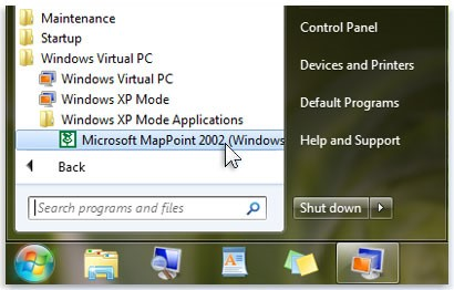wndows 7 support WinXP mode